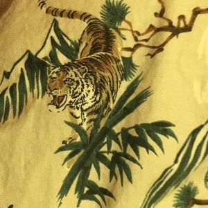 Asian tiger eighty eight men's large ethnic shirt